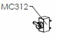 Lelit | Kippschalter MC312 | 2 Arretierungen