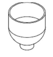 Bohnenbehälter MC211 | PL42-Serie oder PL43